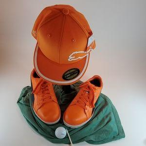 Puma 10.5 shoes nwt Puma hat
